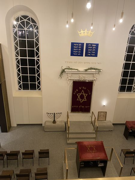 Besuch der Synagoge in Bayreuth