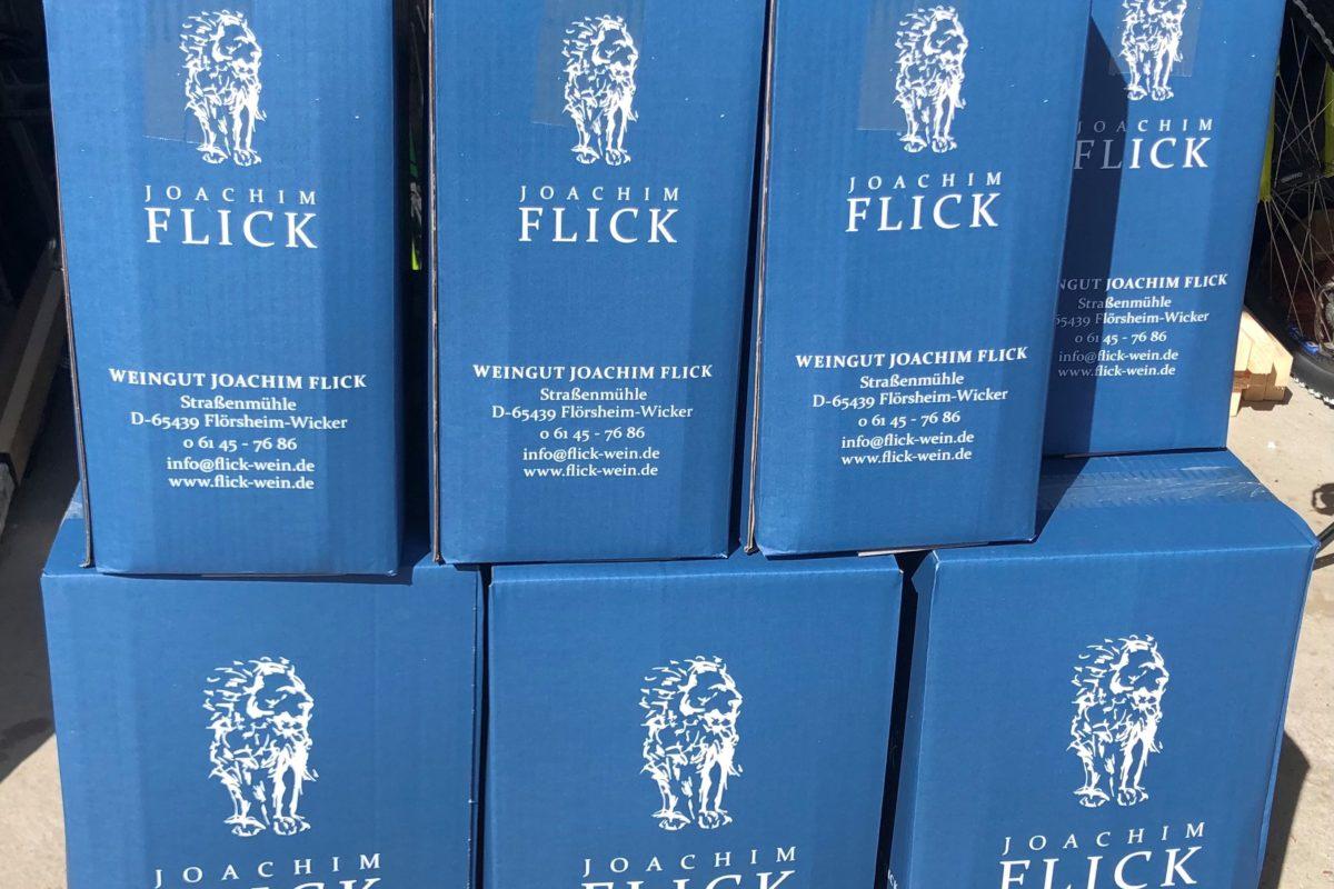 Weinprobe im digitalen Format mit dem Weingut Flick
